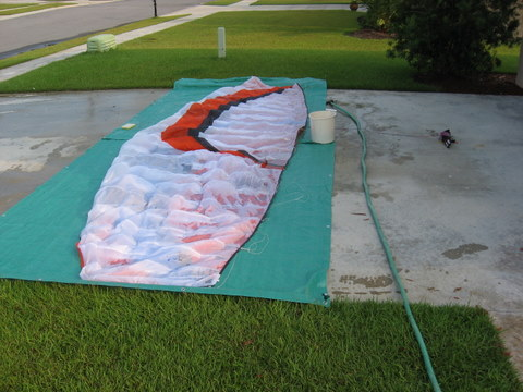 photo of kite cleaning on Driveway